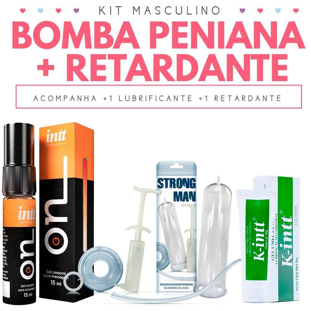 Kit Bomba Peniana com Retardante masculino ON