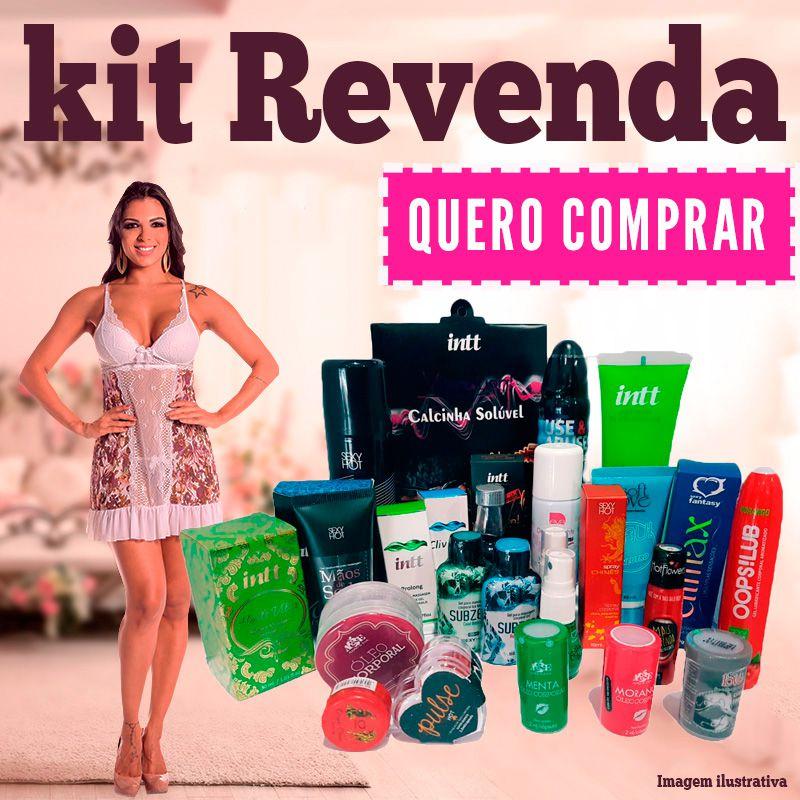 Kit Inicial Revendedora  - Sex Shop Cuiaba - Sexshop - Sexyshop - Produtos Eróticos