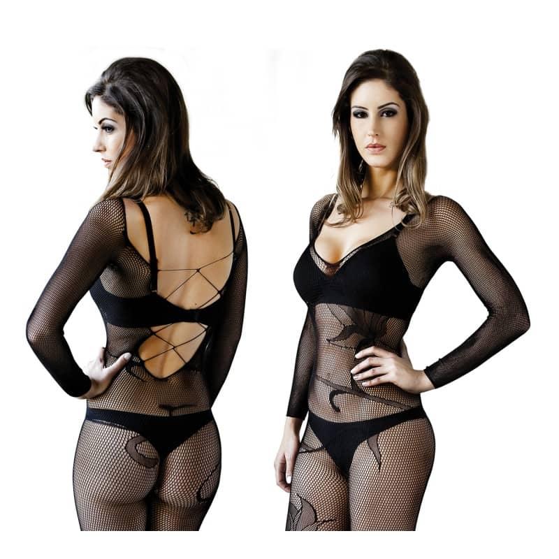 Body Macacão Lis - Leg Le Cher - Sexy Fantasy