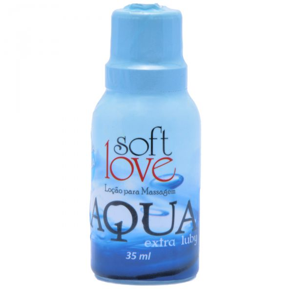 Lubrificante Siliconado Aqua Extra Luby 35ml - Softlove