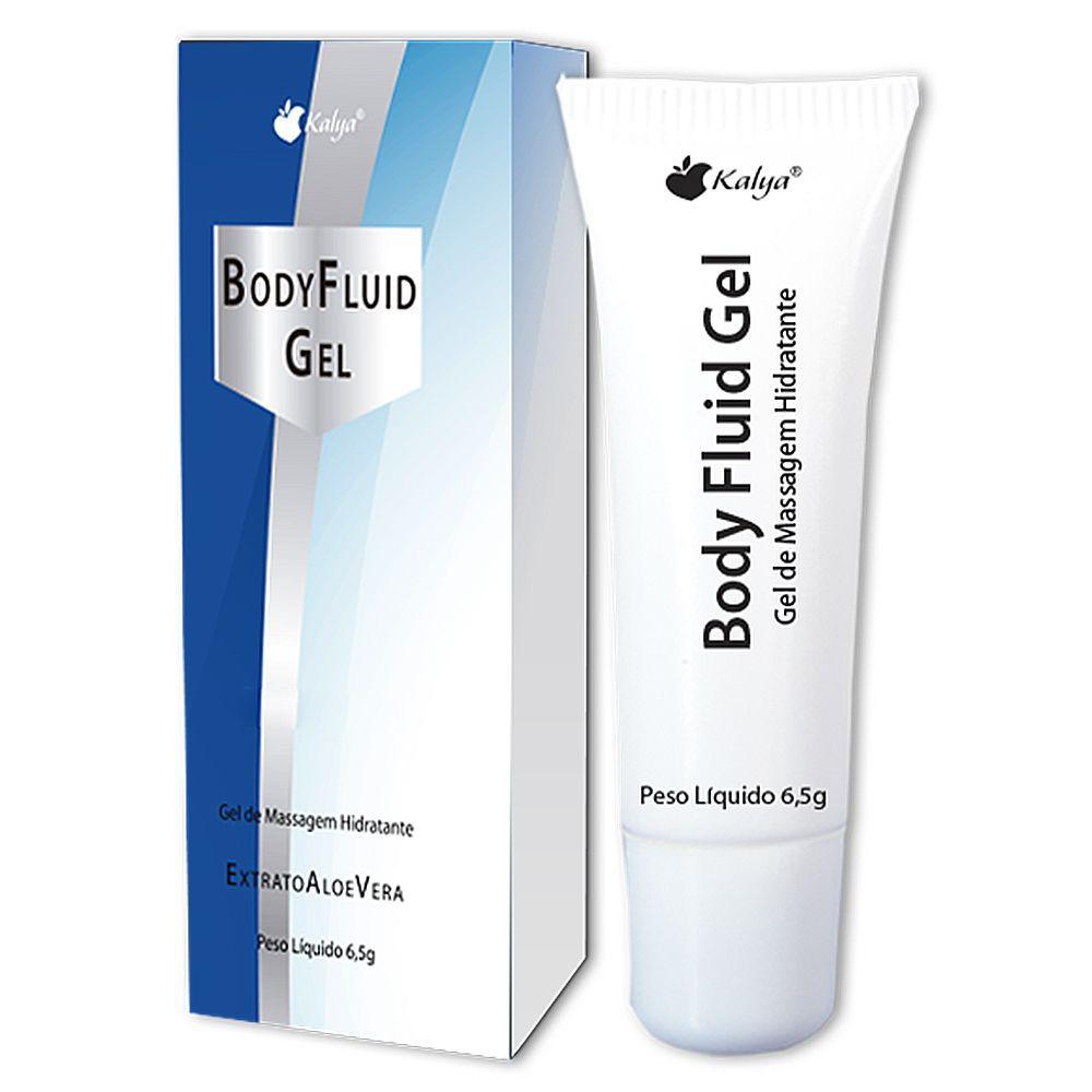 Lubrificante aromatizado Neutro body fluid 6,5g - kalya  - Sex Shop Cuiaba - Sexshop - Sexyshop - Produtos Eróticos