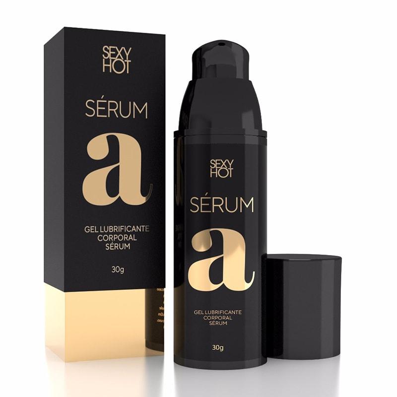 Lubrificante Intimo Sexy Hot Serum A Base De Silicone