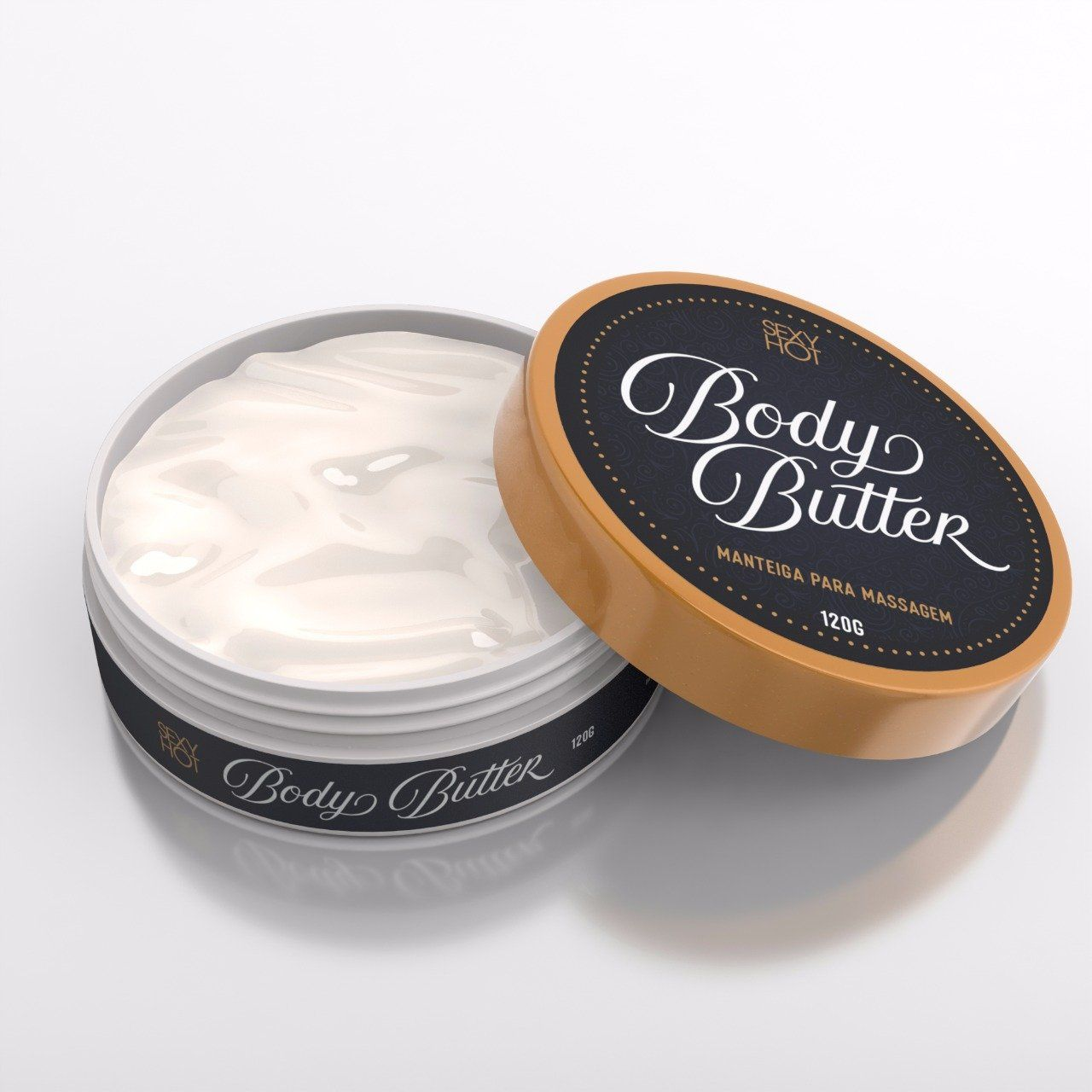 Lubrificante Manteiga Body Butter - Sexy Hot