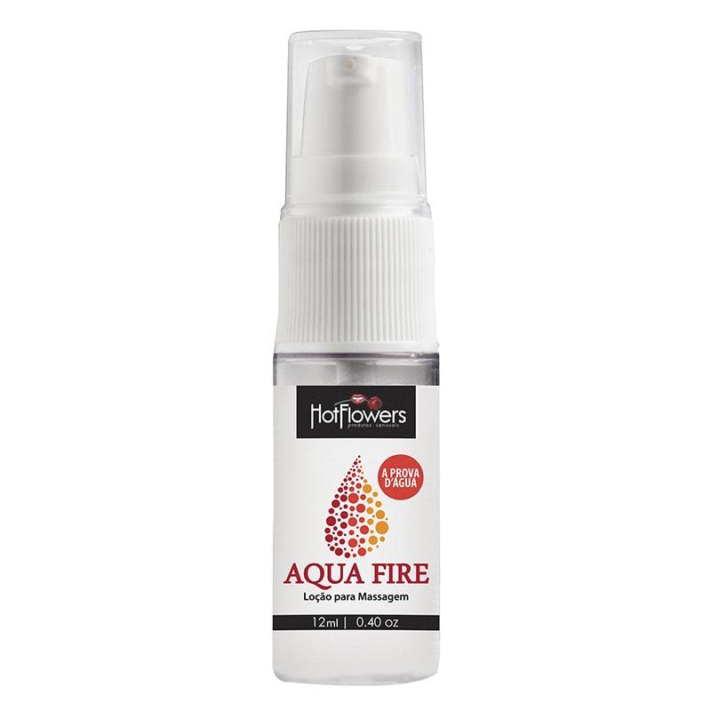 Gel Lubrificante Siliconado Aqua Fire 12ml - Hot Flowers