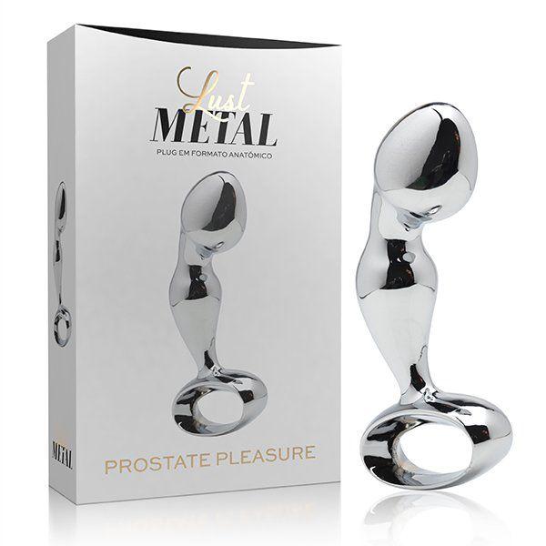 Lust Metal - Plug anal estimulador de Próstata Pleasure