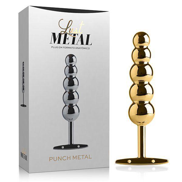 Lust Metal - Plug Anal Punch Metal Gold