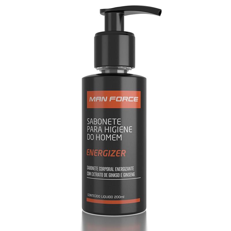 Man Force Energizer - Sabonete para Higiene do Homem