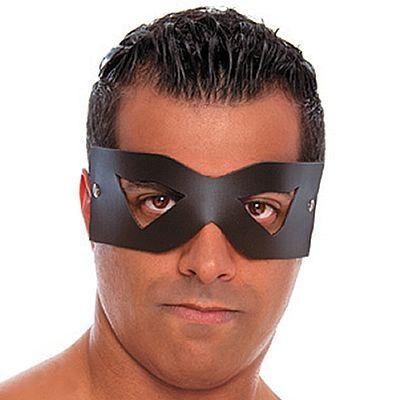 Mascara Em Couro Sintético Unissex