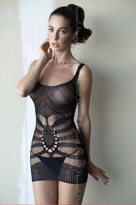 Mini vestido com alça de uso feminino - JT3422
