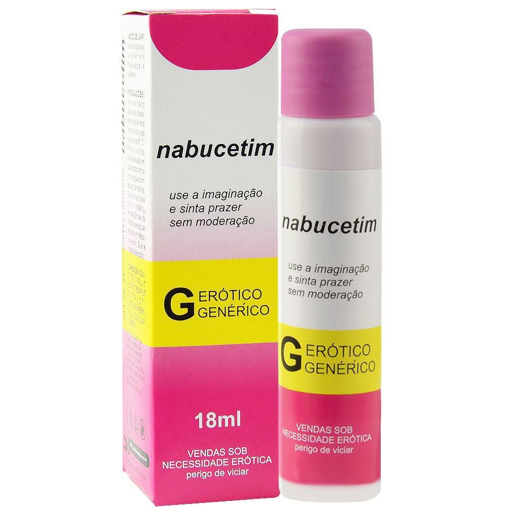Nabucetim lubrificante aromático 18ml - Secret love  - Sex Shop Cuiaba - Sexshop - Sexyshop - Produtos Eróticos