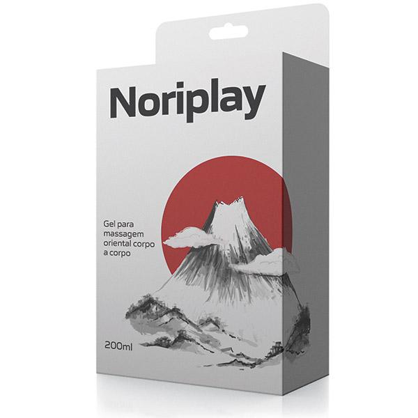Gel para massagem oriental Noriplay corpo a corpo