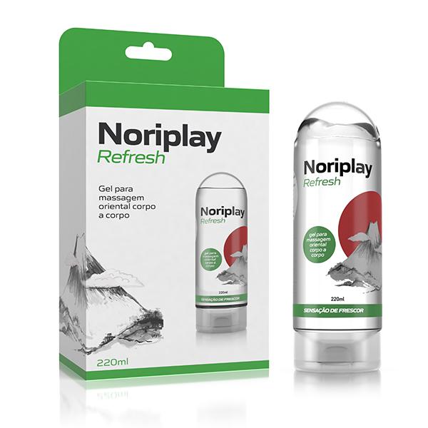 Noriplay Refresh - Gel para Massagem Oriental Corpo a Corpo que Refresca Nuru - 220ml