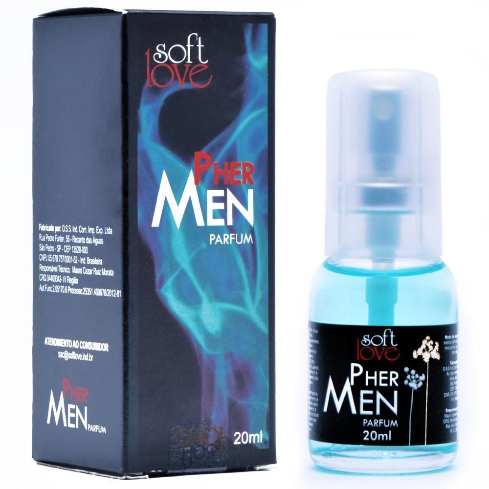 Perfume Feromônio Masculino Pher Men - Soft Love