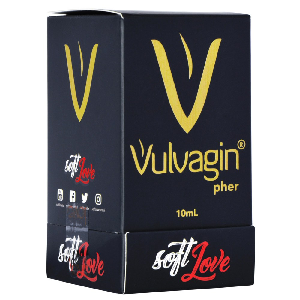 Perfume Intimo Vulvagin 10ml - Soft Love  - Sex Shop Cuiaba - Sexshop - Sexyshop - Produtos Eróticos