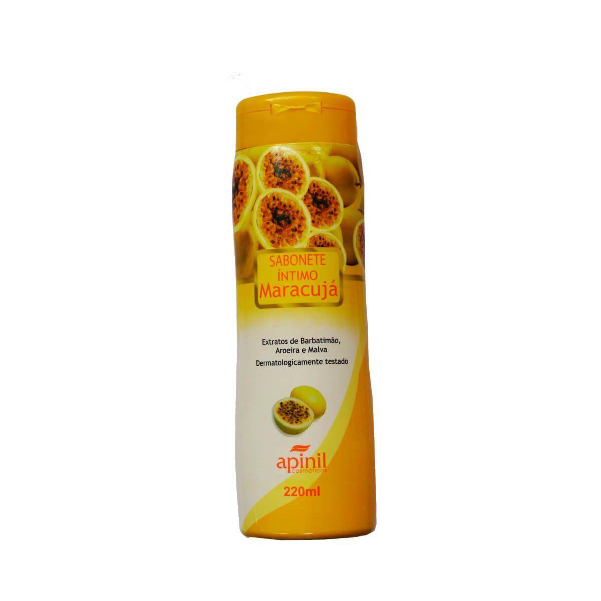 Sabonete íntimo aroma de maracujá 220ml