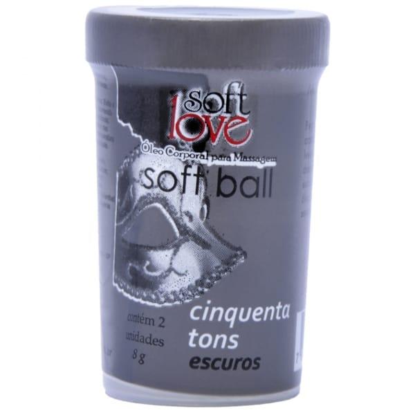 Soft Ball 50 Tons mais Escuros - Excita, esquenta intensamente e vibra