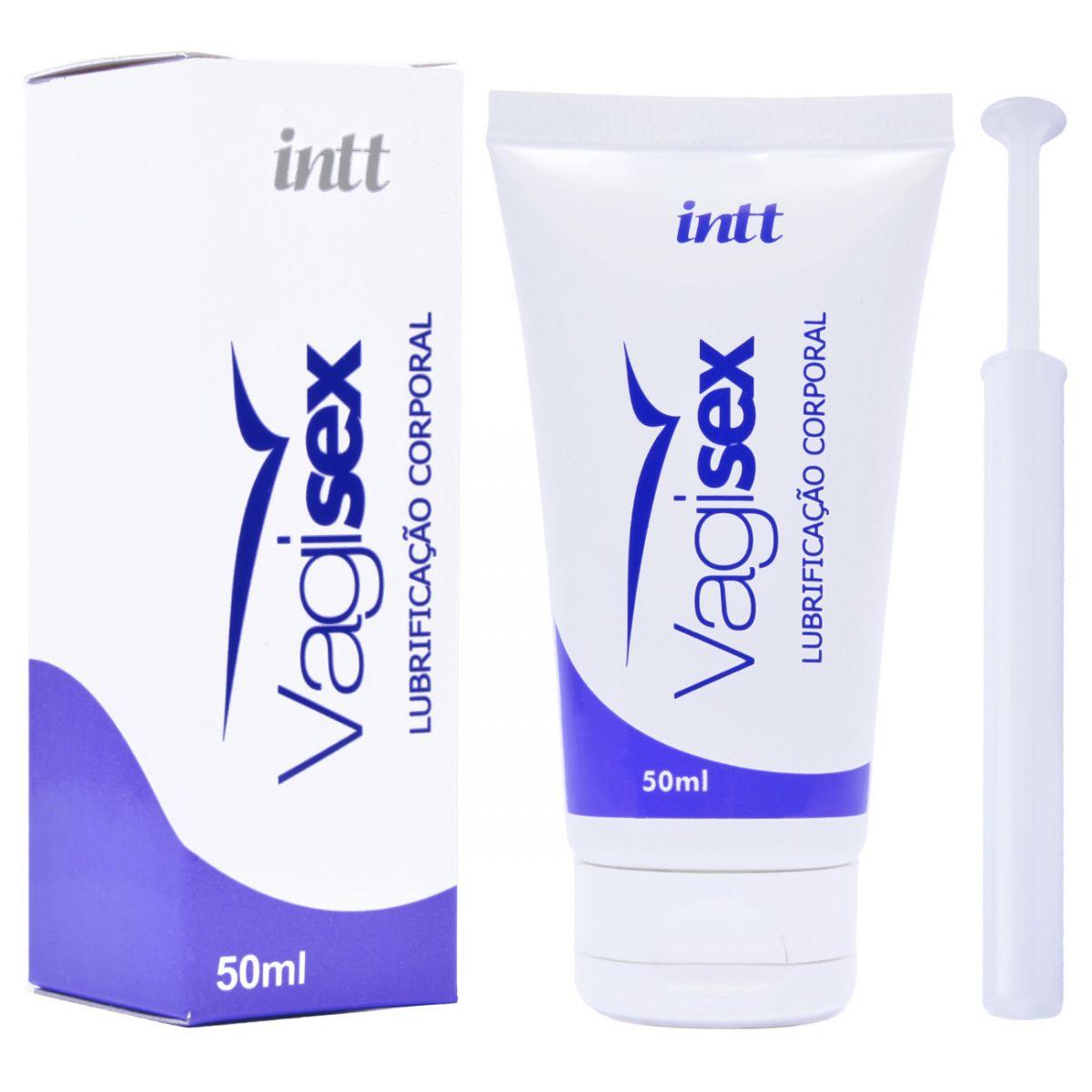 Lubrificante Íntimo Vaginal Vagisex 50ml - Intt