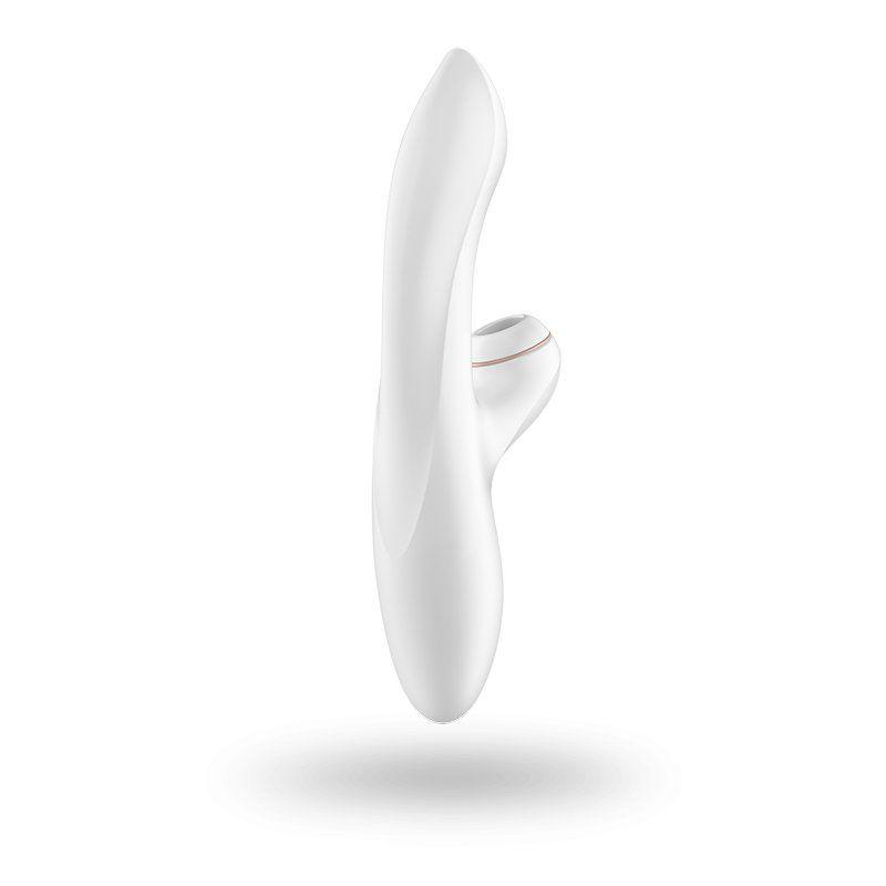 Vibrador com estimulador de clitóris satisfyer pro g-spot rabbit  - Sex Shop Cuiaba - Sexshop - Sexyshop - Produtos Eróticos