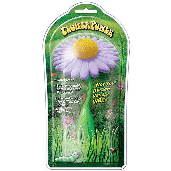 Vibrador Lindo em formato de flor FLOWER POWER