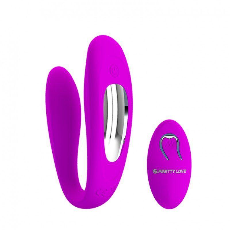 Vibrador Para Casal com 10 modos de vibrações Letitia - Pretty Love  - Sex Shop Cuiaba - Sexshop - Sexyshop - Produtos Eróticos