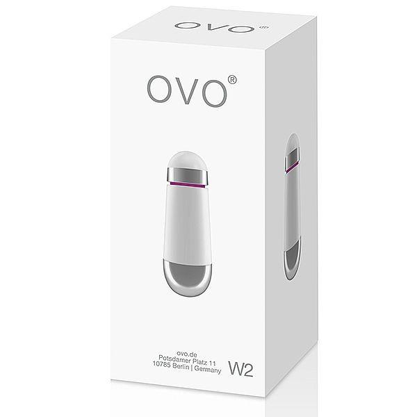 Vibrador W2 Bullet - White- OVO LifeStyle  - Sex Shop Cuiaba - Sexshop - Sexyshop - Produtos Eróticos