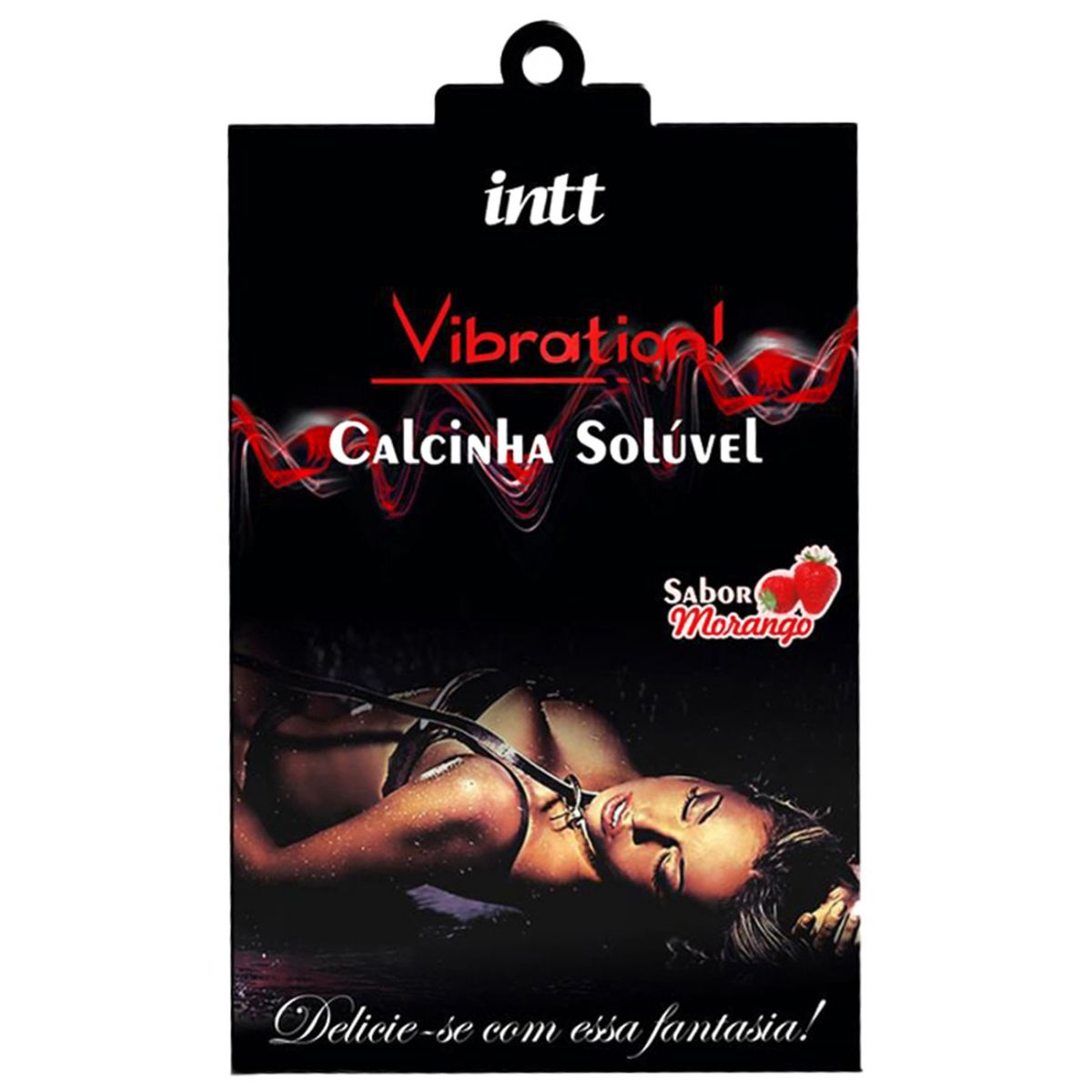 Calcinha comestível vibration intt  - Sex Shop Cuiaba - Sexshop - Sexyshop - Produtos Eróticos
