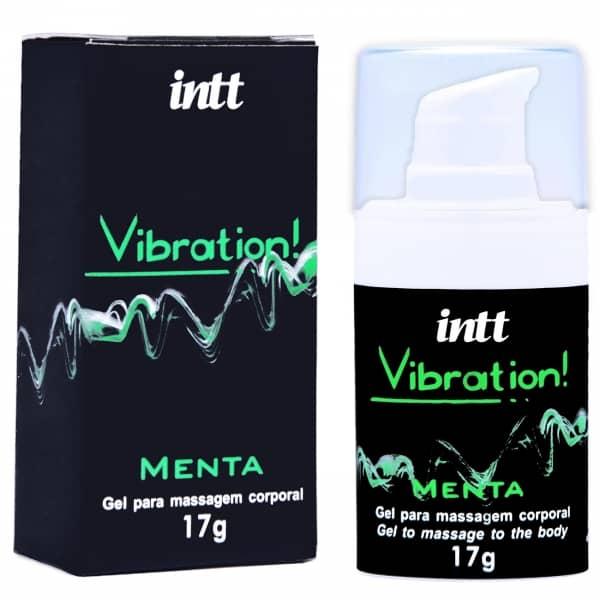 Vibration! Vibrador Líquido Beijável 17g - Menta
