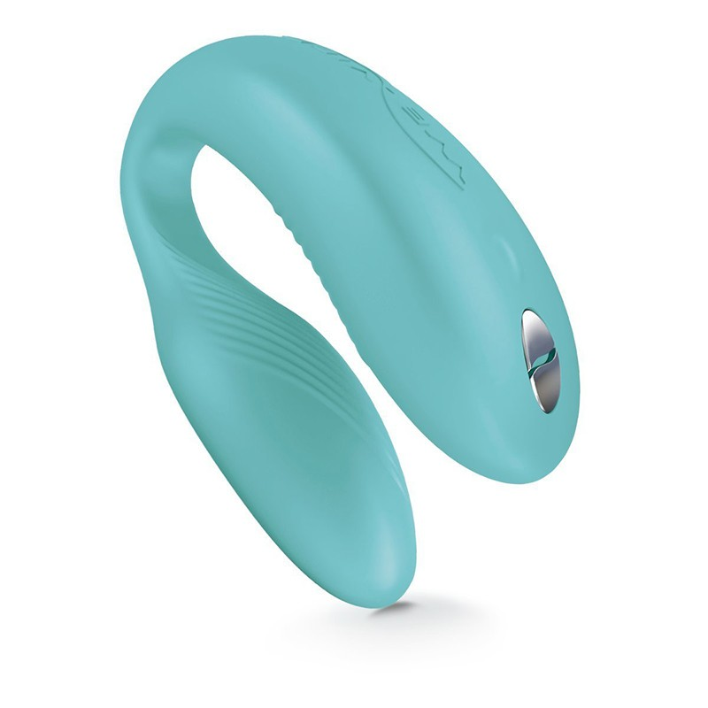 We-Vibe Sync Verde Água - Vibrador Para Casal Recarregável E Sem Fio