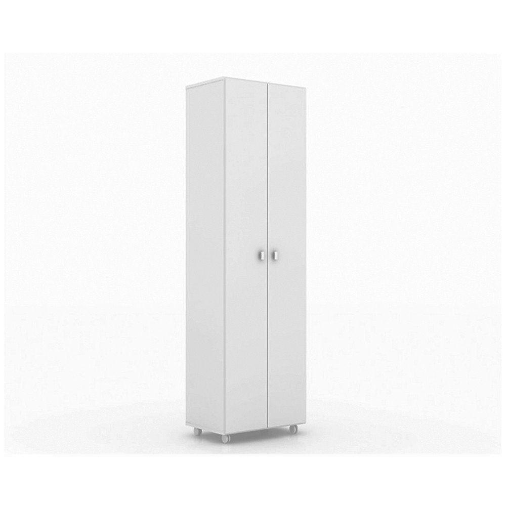 Armário Multiuso com Rodízios AM3101 Branco - Tecno Mobili