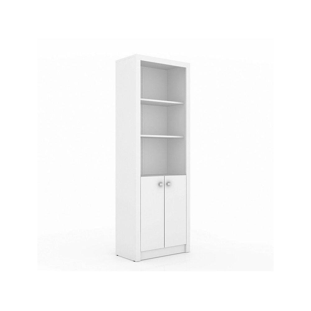Armário para Escritório 02 Portas ME4110 Branco - Tecno Mobili