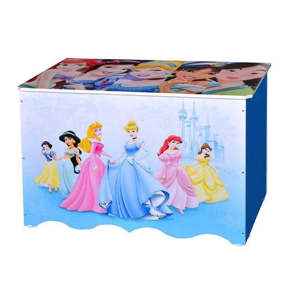 Baú Organizador Para Brinquedos em MDP Princesas - Criança Feliz