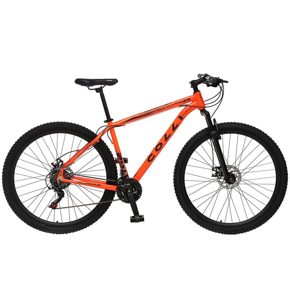Bicicleta Colli 531 Aro 29 Shimano 21V Suspensão Freio a Disco Quadro Alumínio - Colli Bike