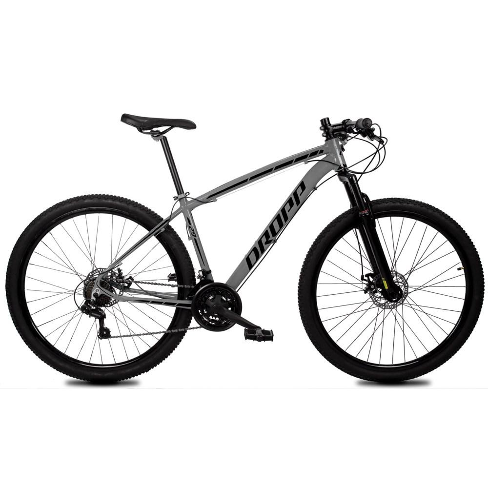 Bicicleta MTB Z1-X Aro 29 Quadro Alumínio 21 Marchas Freio Disco Mecânico - Dropp