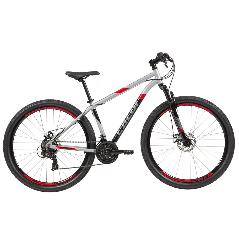 Bicicleta Supra Aro 29 Quadro 17 Alumínio Cinza - Caloi