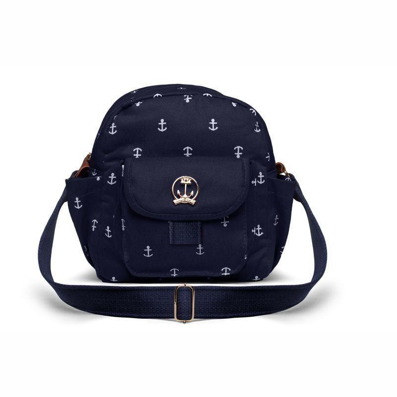 Bolsa Para Viagem Térmica Toulon Navy Sarja Marinho - Classic For Baby Bags