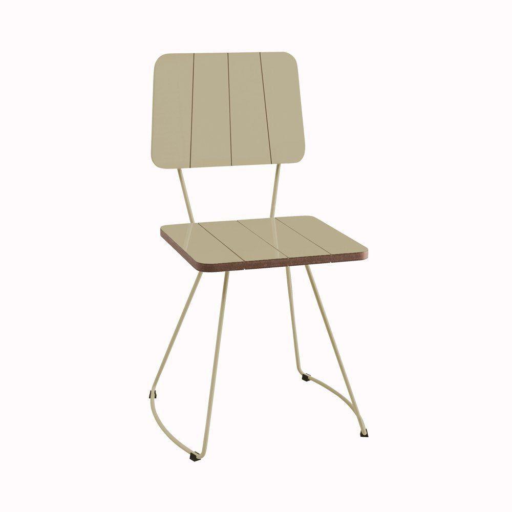 Cadeira Costela Meia Lua Fendi - Daf Mobiliário