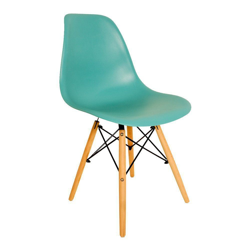 Cadeira Eiffel Charles Eames em ABS Tiffany - Facthus