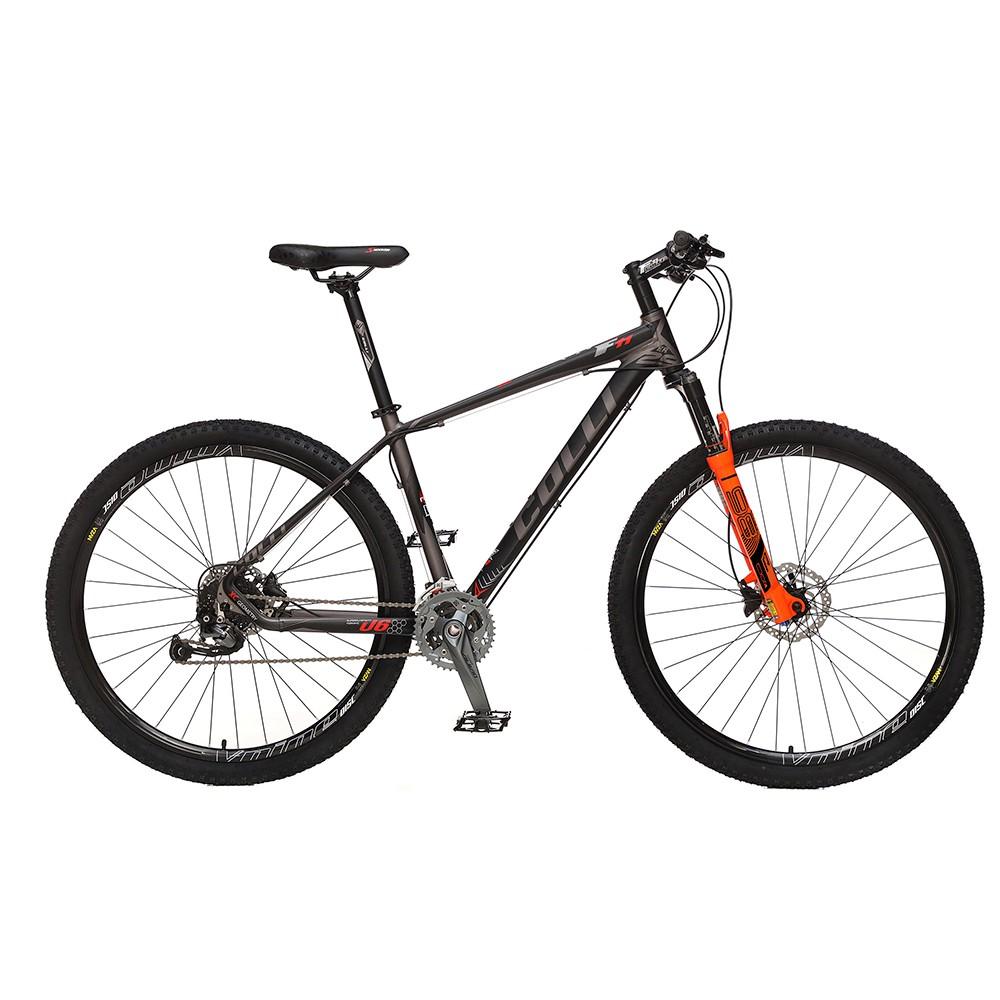 Bicicleta Colli F11 Kit Alivio Shimano  Aro 29 Freio hidráulico Quadro 17'' 27V Alumínio Preto - Colli Bike