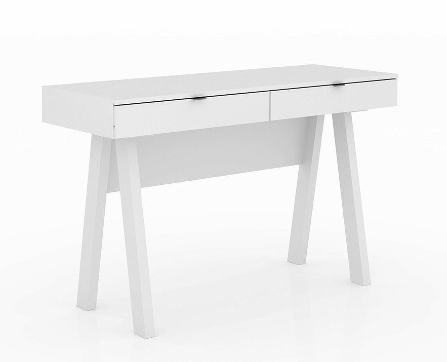 Escrivaninha para Home Office ME4128 Branco - Tecno Mobili