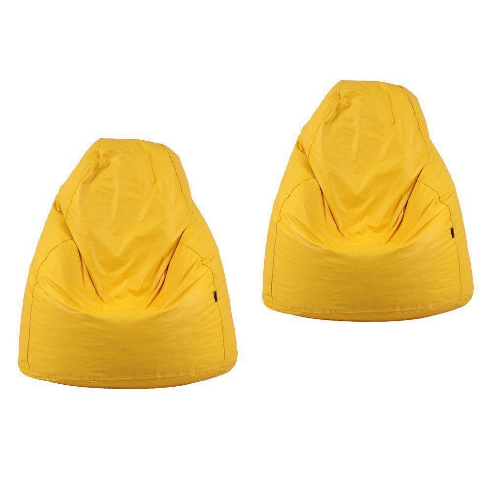 Kit 2 Puffs Fofão Pop Amarelo - Stay Puff
