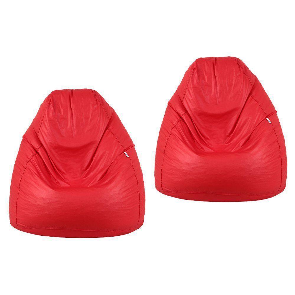 Kit 2 Puffs Fofão Pop Vermelho - Stay Puff