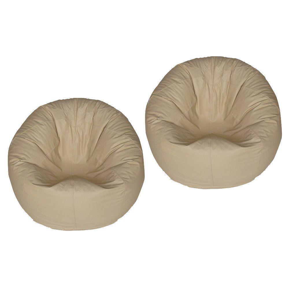 kit 2 Puffs Redondo Pop Marfim - Stay Puff