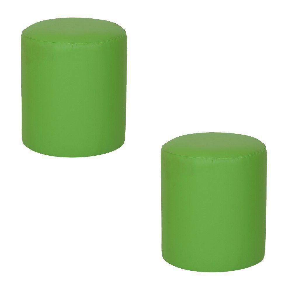 kit 2 Puffs Round Nobre Verde - Stay Puff