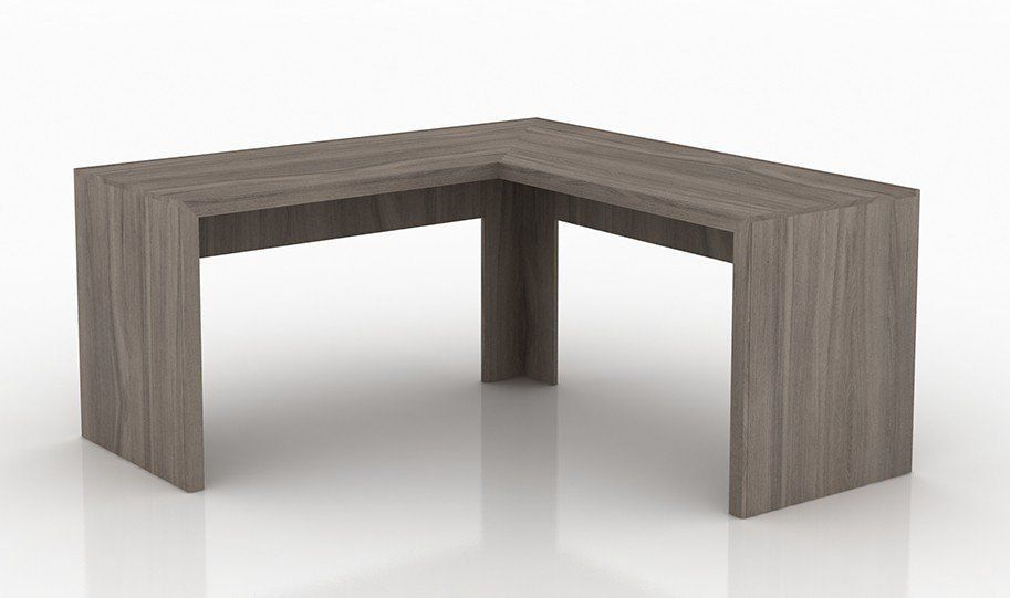 Mesa de Canto para Home Office ME4116 Carvalho - Tecno Mobili