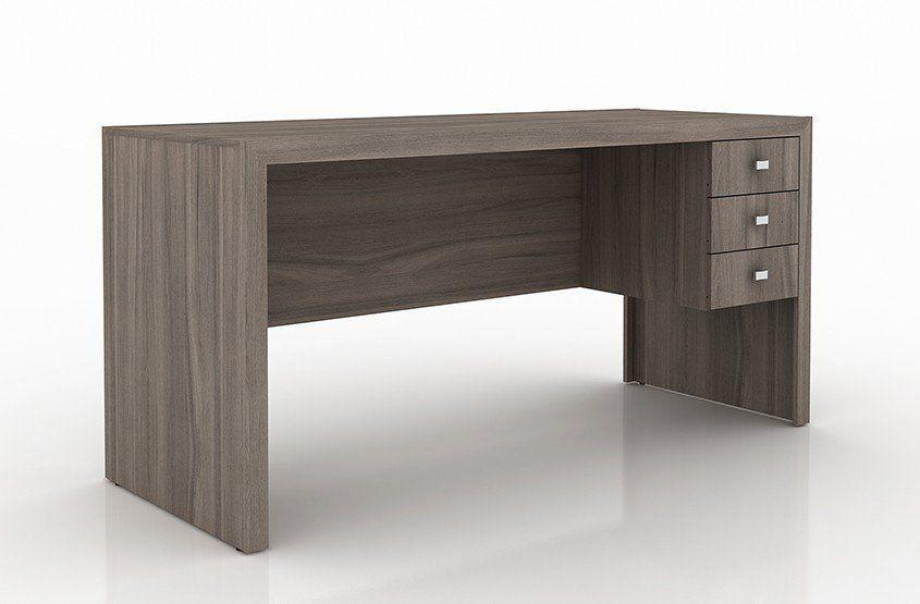 Mesa para Home Office 155cm ME4113 Carvalho - Tecno Mobili