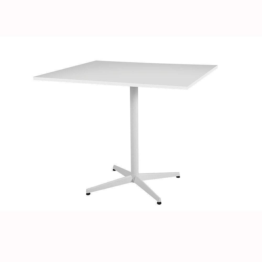 Mesa Rashid Quadrado Branco - Daf Mobiliário