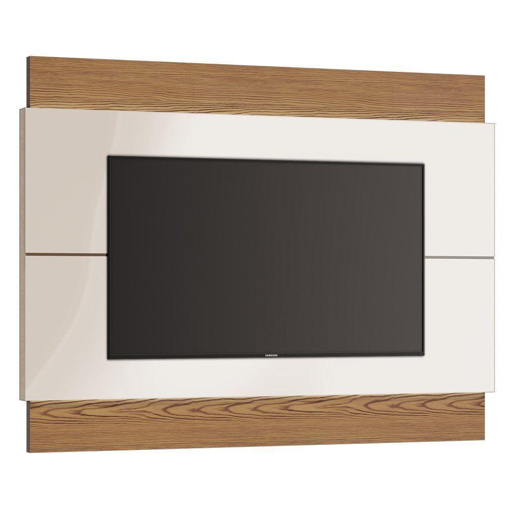 Painel para TV Classic 180cm Off White/ Freijó - Imcal
