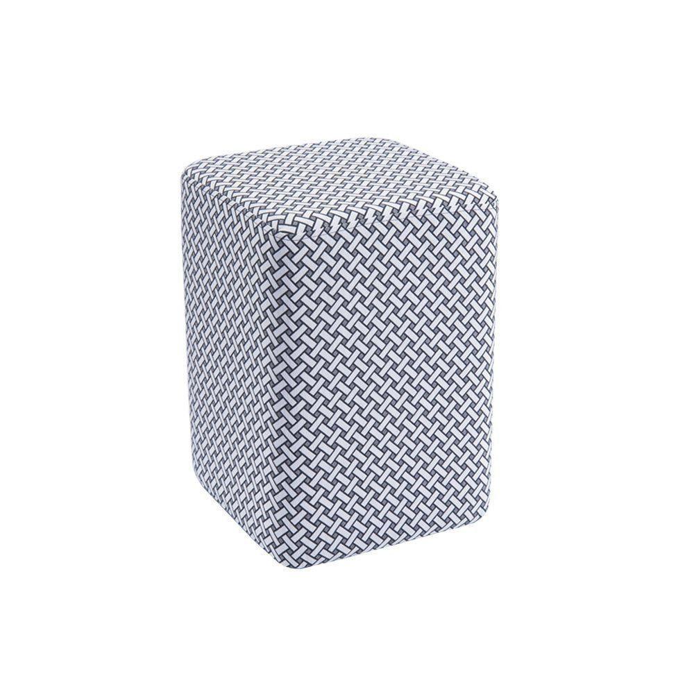 Puff Box Retangular Estampado C03 - Daf Mobiliário
