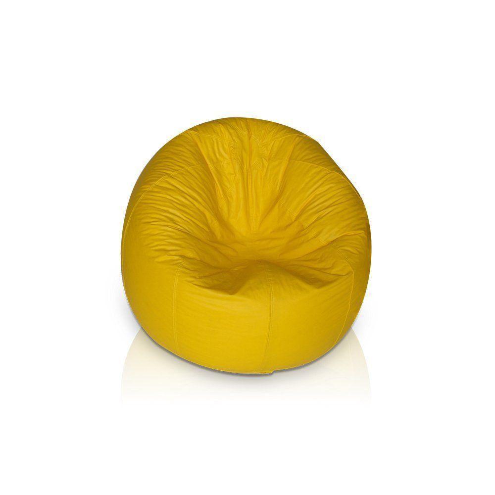 Puff Redondo Pop Amarelo - Stay Puff