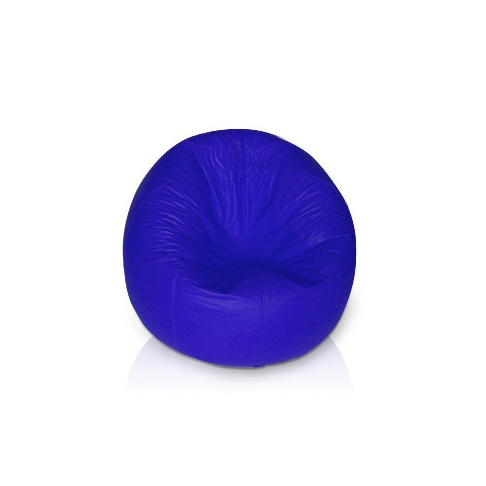 Puff Redondo Pop Azul Royal - Stay Puff